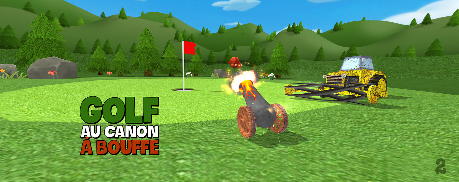 iOS Golf Game in French